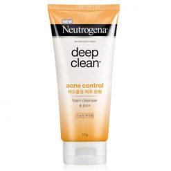 NEUTROGENA Deep Clean Acne Control Foam Cleanser