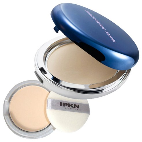IPKN Skin Finish Pact Powder Natural Beige NO23 & Refill