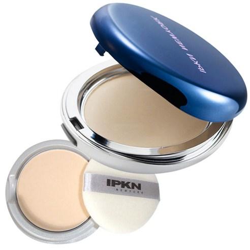 IPKN Skin Finish Pact Powder Nude Beige NO21 & Refill