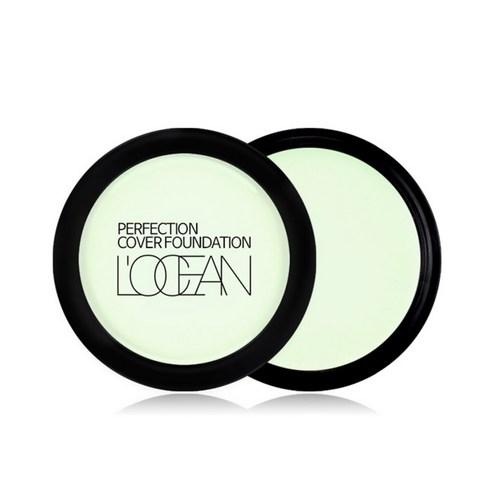 LOCEAN Perfection Cover Foundation Aqua Light Green NO20 16g