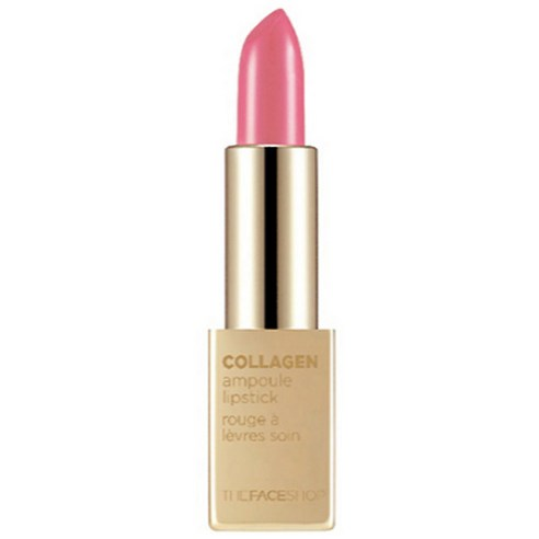 THE FACE SHOP Collagen Ampoule Lipstick India Red NO11 3.5g