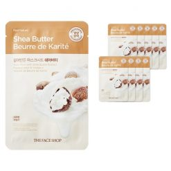THE FACE SHOP Face Mask with Shea Butter Extract 10ea