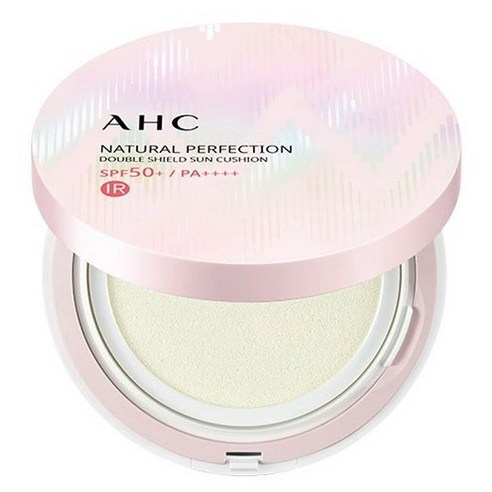 AHC Natural Perfection Double Shield Sun Cushion SPF50+ PA++++ 25g