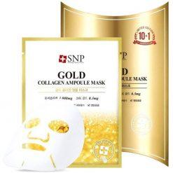 SNP Gold Collagen Ampoule Mask 25ml 10ea