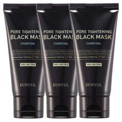EUNYUL Pore Tightening Black Mask Peel Off Type Charcoal 50ml x 3ea