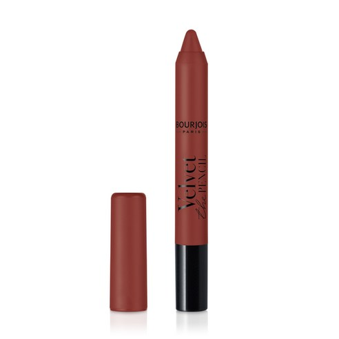 BOURJOIS Velvet The Pencil Matte Lipstick Brun de Folie no10 3g