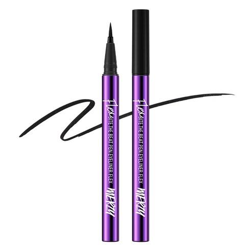 MERZY Bite The Beat Pen Eyeliner Flex Hard Black PF01 0.6g