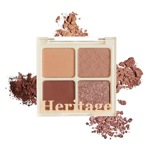 MERZY The Heritage Shadow Palette Warm Camelia no02 8g