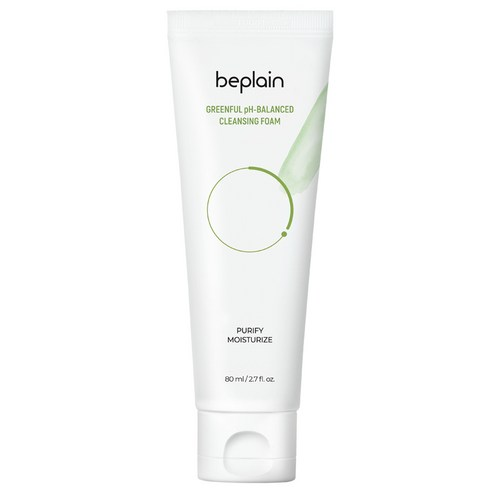 BE PLAIN Greenful pH-Balanced Cleansing Foam 80ml