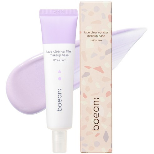 BOEAN Face Clear Up Filter Makeup Base Ultra Violet 30ml