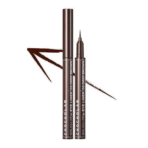 CHOCHO'S LAB Brush Pen Eye Liner Deep Brown no02 0.6ml