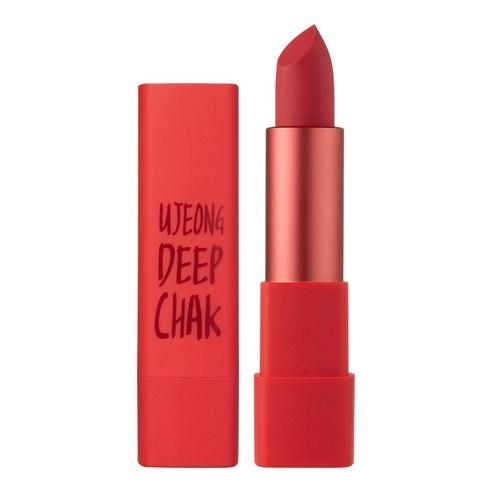 MACQUEEN Air Deep Kiss Lipstick Red Orange no02 3.5g