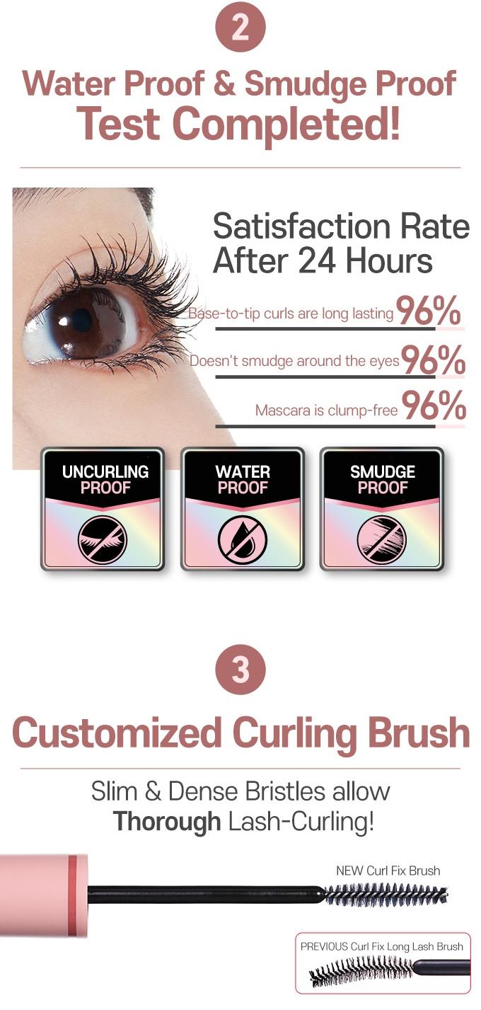 ETUDE HOUSE Curl Fix Mascara 2