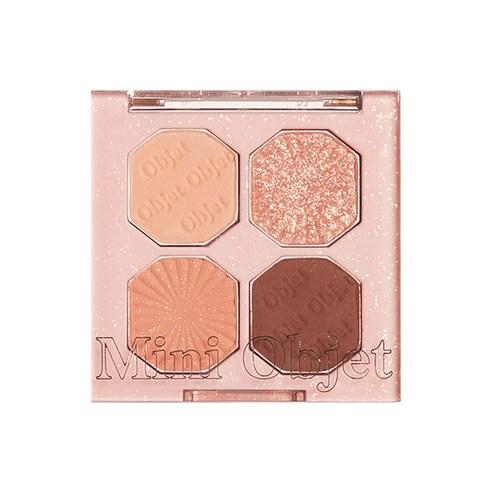 ETUDE HOUSE Play Color Eyes Mini Objet Special Kit Peach Shell Tray no02 3.6g