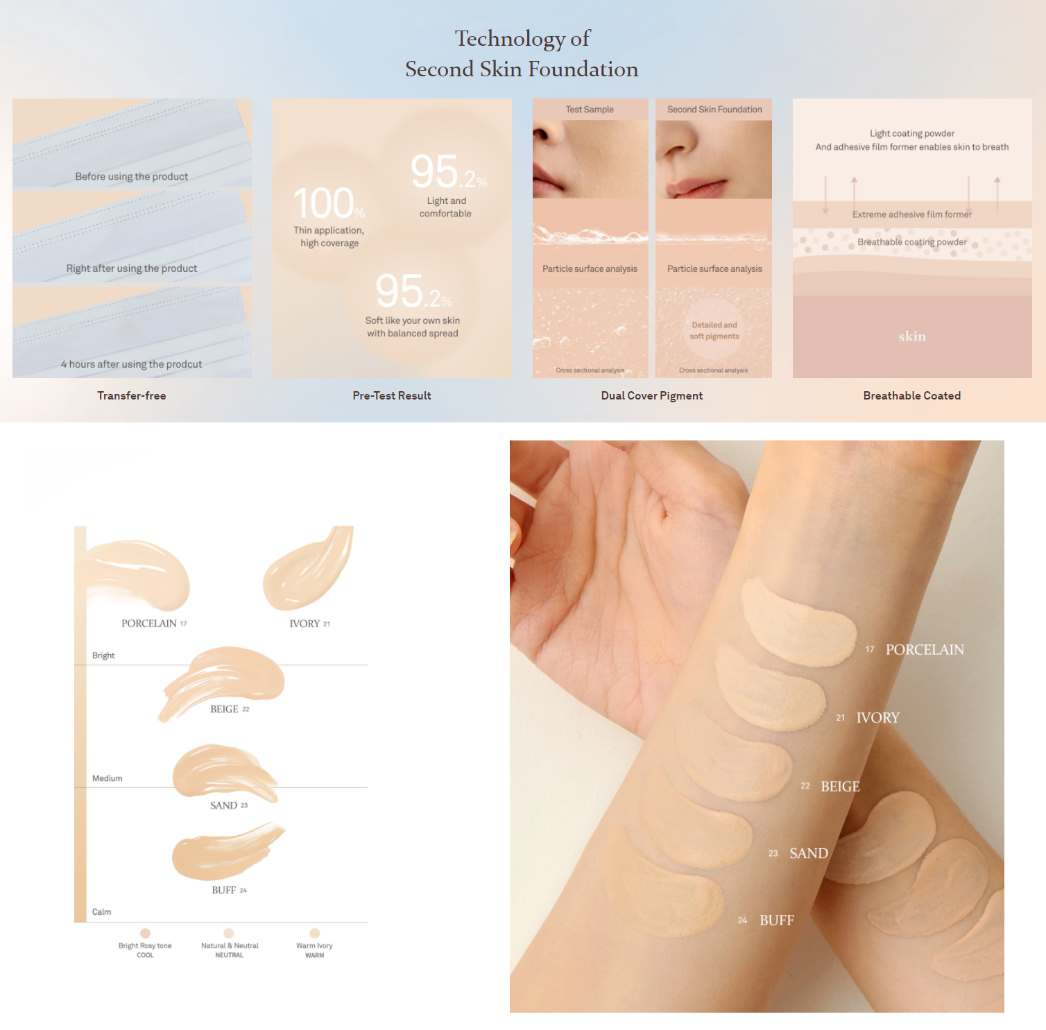 HINCE Second Skin Foundation
