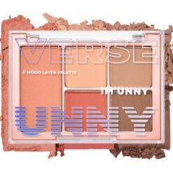 IM UNNY Mood Layer Eyeshadow Palette Maple Mood no04 5.5g