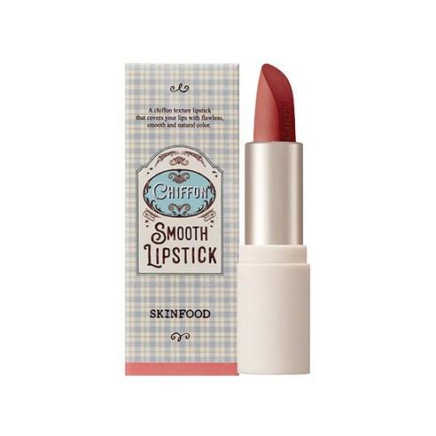 SKINFOOD Chiffon Smooth Lipstick Peach Shower no06 3.5g