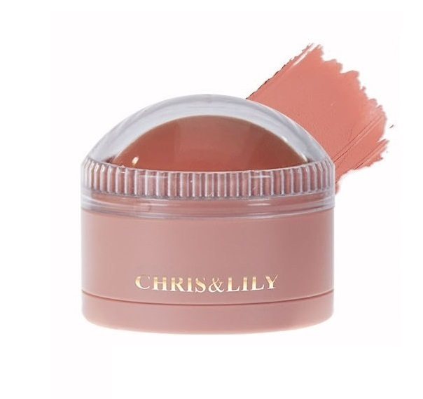 CHRIS&LILY Dome Gle Blusher Ginger Coral CR01 11g