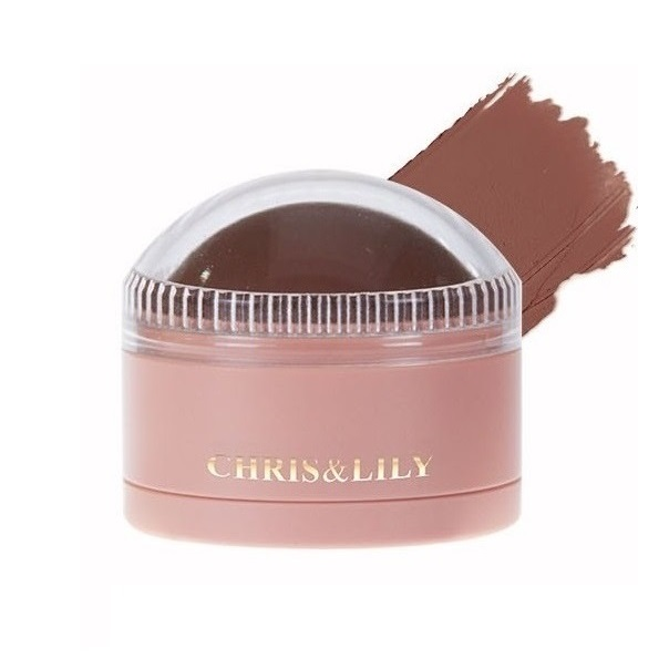 CHRIS&LILY Dome Gle Blusher Natural Bronzer BR01 11g
