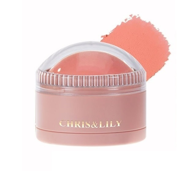 CHRIS&LILY Dome Gle Blusher Peach Coral CR02 11g