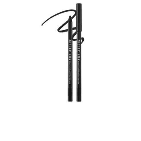 SISTER ANN Double Effect Waterproof Eyepencil Matt Black no07 0.5g